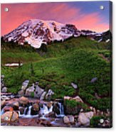Edith Creek Sunrise Acrylic Print