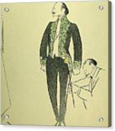 Edmond Rostand (1868-1918) Acrylic Print