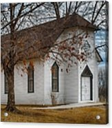 Edmonds Chapel 1891 Acrylic Print