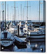 Edmonds Yacht Club Acrylic Print