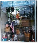 Ed's Collectables Window Display Acrylic Print