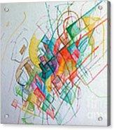 Education 1 Acrylic Print by David Baruch Wolk