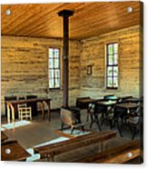 Education Of The Past Acrylic Print