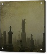Eerie Darkness In The Fog Acrylic Print