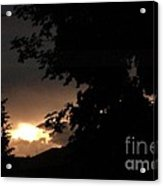 Eerie Sky After The Storm Acrylic Print