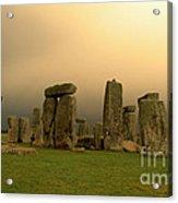 Eerie Stonehenge Acrylic Print