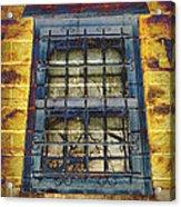 Eerie Window Acrylic Print
