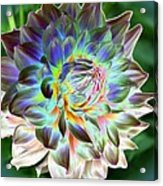 Eerily Beauty Acrylic Print