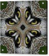 Eery Eyes - 1 Acrylic Print