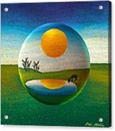 Eeyorb  Acrylic Print