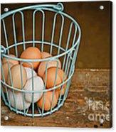 Egg Basket Acrylic Print