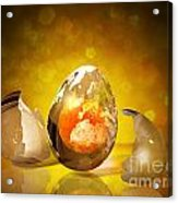Egg World Acrylic Print