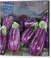Eggplants Acrylic Print