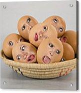 Eggs In A Basket Acrylic Print