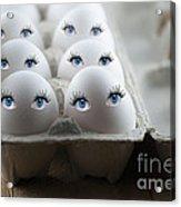 Eggs Acrylic Print by Juli Scalzi