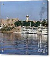 Egypt - Nile Steamboat Acrylic Print