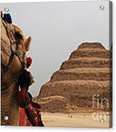 Egypt Step Pyramid Saqqara Acrylic Print