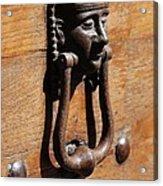 Egyptian Door Knocker Acrylic Print