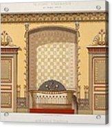 Egyptian Interior , From Interior Acrylic Print