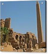 Egyptian Obelisk Acrylic Print