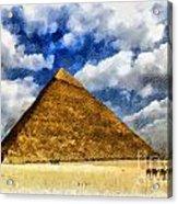 Egyptian Pyramid Acrylic Print