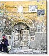 Egyptian Woman Acrylic Print