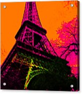 Eiffel 20130115v1 Acrylic Print by Wingsdomain Art and Photography