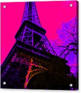 Eiffel 20130115v3 Acrylic Print by Wingsdomain Art and Photography
