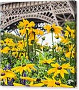 Eiffel Flower Acrylic Print