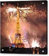 Eiffel Hat Acrylic Print