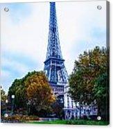 Eiffel In Autumn Acrylic Print