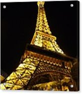 Eiffel Night Acrylic Print