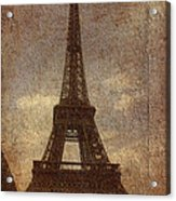 Eiffel Acrylic Print by Soumya Bouchachi