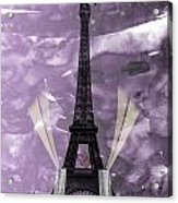 Eiffel Tower - Paris - Love Acrylic Print