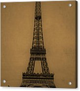 Eiffel Tower 1889 Acrylic Print by Andrew Fare