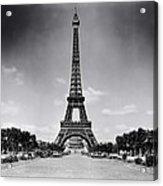 Eiffel Tower And Park 1909 Acrylic Print