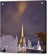 Eiffel Tower Dream Acrylic Print