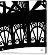 Eiffel Tower Girders Acrylic Print
