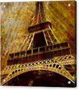 Eiffel Tower Acrylic Print by Jack Zulli