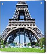 Eiffel Tower Lower Part Paris Acrylic Print