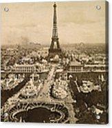 Eiffel Tower, Paris, 1900 Acrylic Print