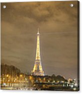 Eiffel Tower - Paris France - 011339 Acrylic Print by DC Photographer