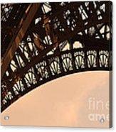 Eiffel Tower Paris France Arc Acrylic Print