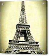 Mighty Eiffel Tower Acrylic Print