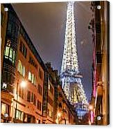 Eiffel Tower Three Acrylic Print