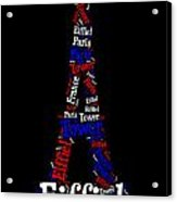Eiffiel Tower Acrylic Print