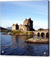 Eilean Donan Castle Kintail Scotland Acrylic Print