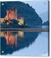 Eilean Donan Castle Dusk Acrylic Print