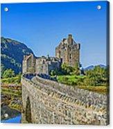 Eilean Donan Castle Walkway Acrylic Print