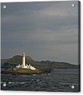 Eilean Musdile Lighthouse Acrylic Print